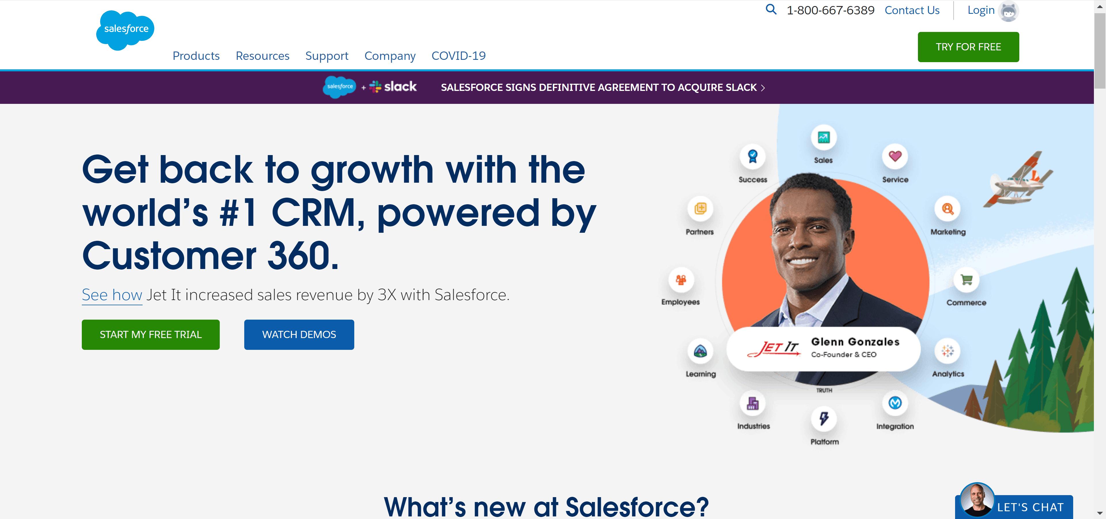 Salesforce CRM Tool