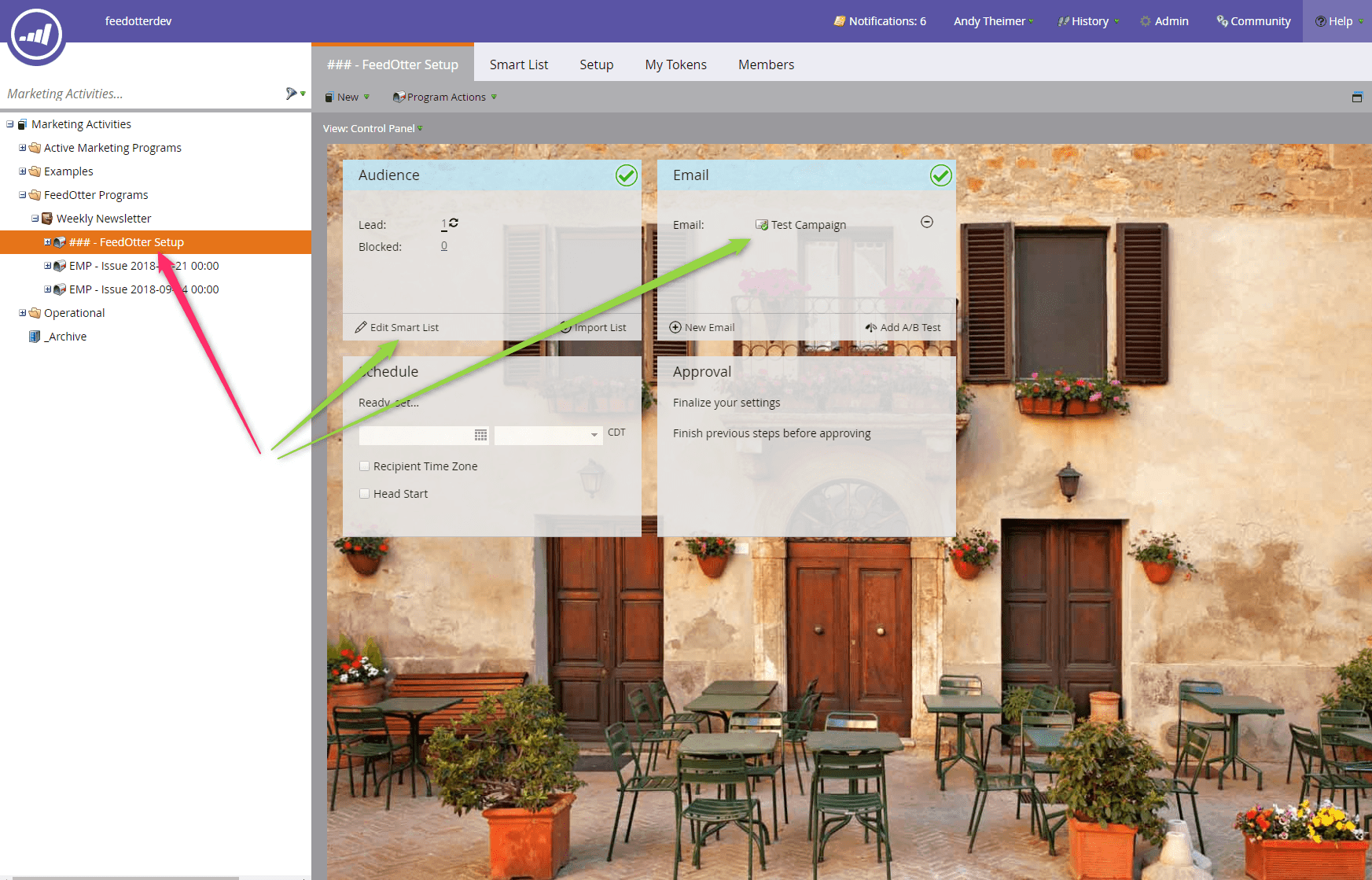 Setup RSS email audience in Marketo