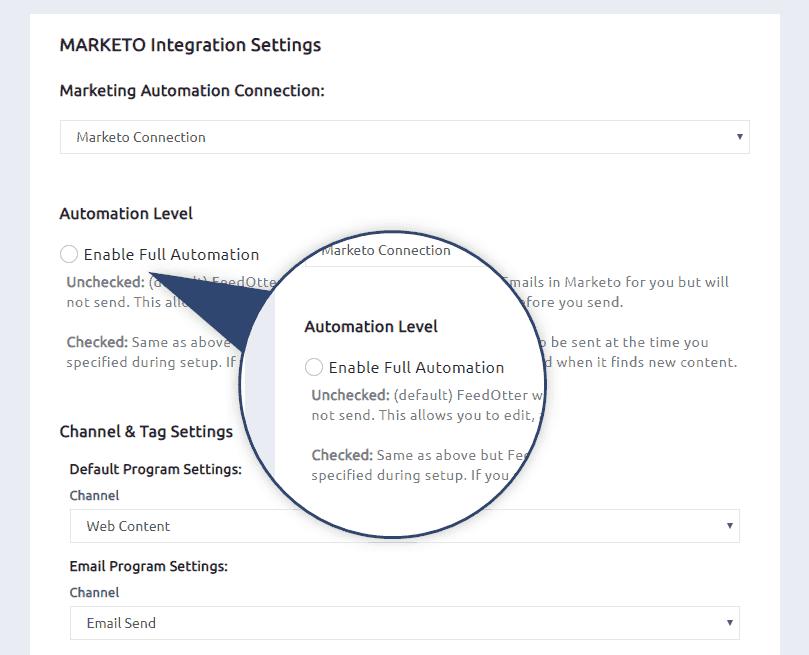 Marketo Automation Level