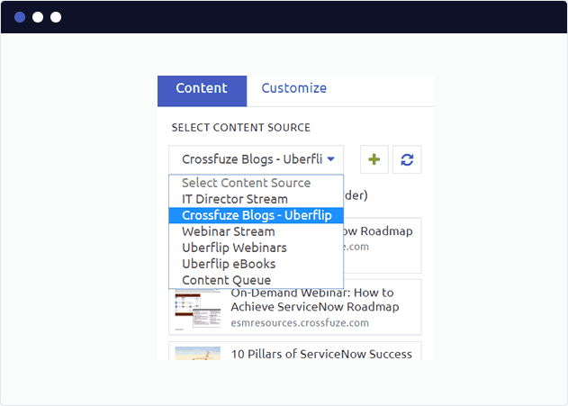 Curate your UberFlip content into a newsletter