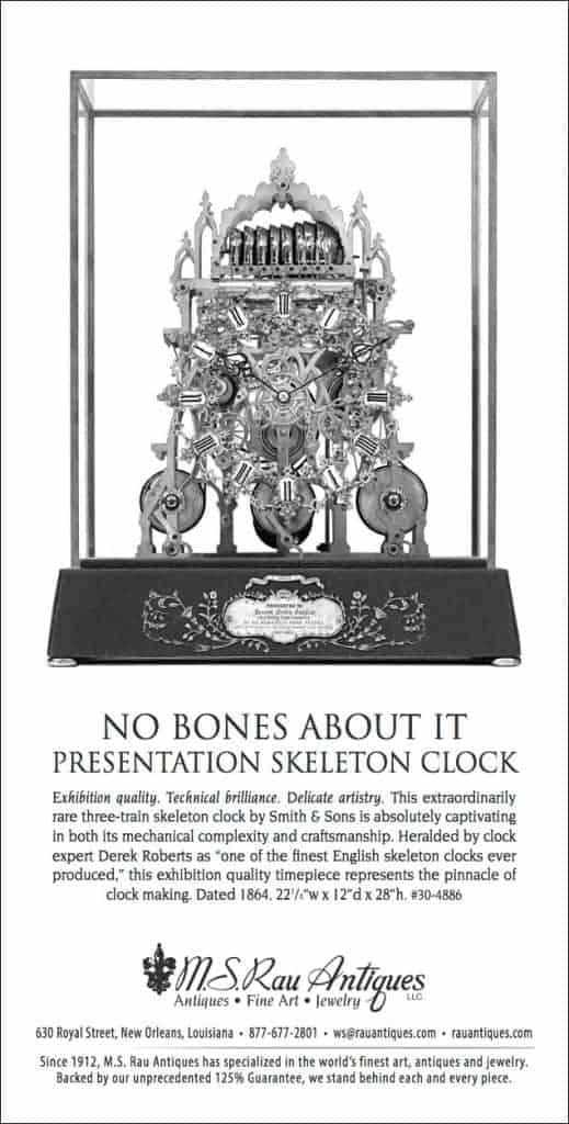 No Bones About it Clock