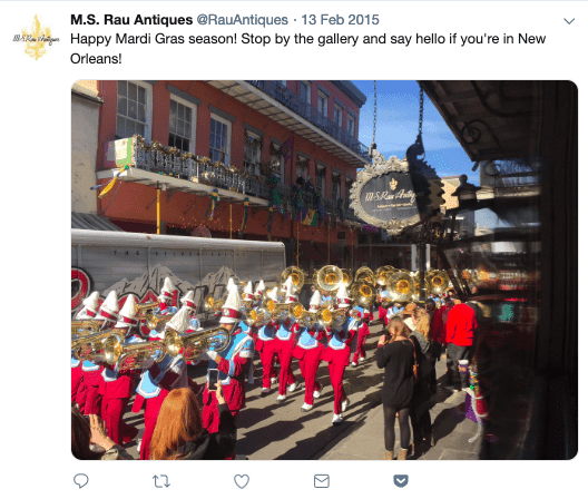 Marching Band in Red French Quarter