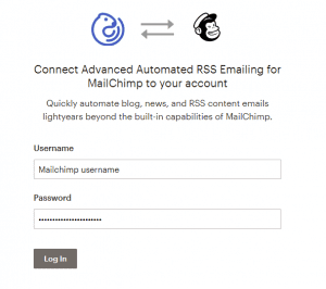 Connect your MailChimp and FeedOtter account