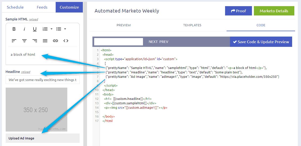 FeedOtter Custom Fields Appearing in the UI