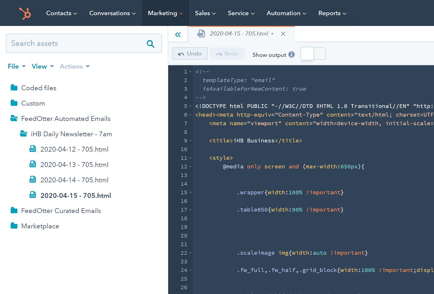 Automate HubSpot Newsletter Creation