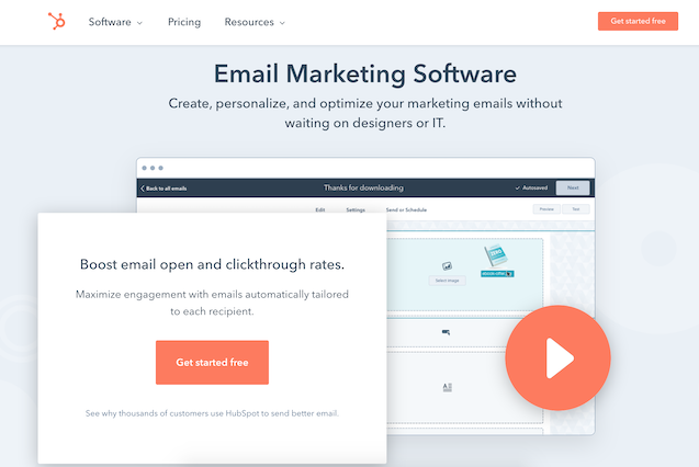 Hubspot Google Sheets integration for google sheets to email automation
