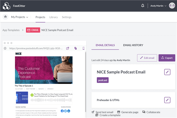 BEE email builder for Marketo email templates